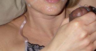 Ejaculation dans sa bouche