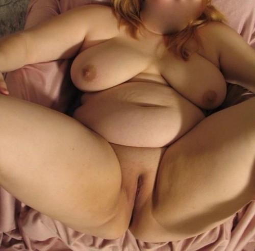 La grosse chatte d'une femme ronde